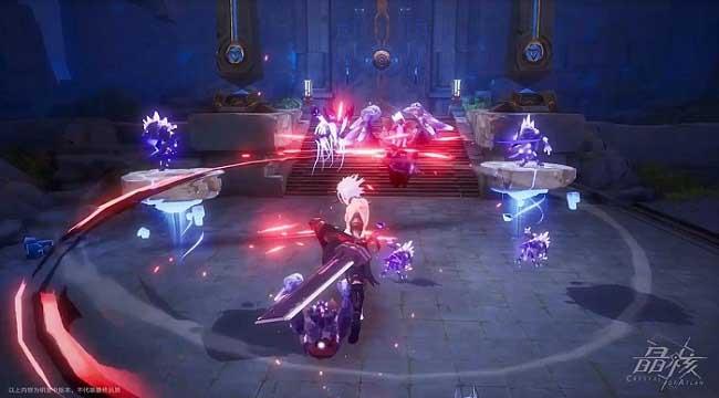 Crystal of Atlan mở ra một lục địa ma thuật kết hợp người máy huyền bí
