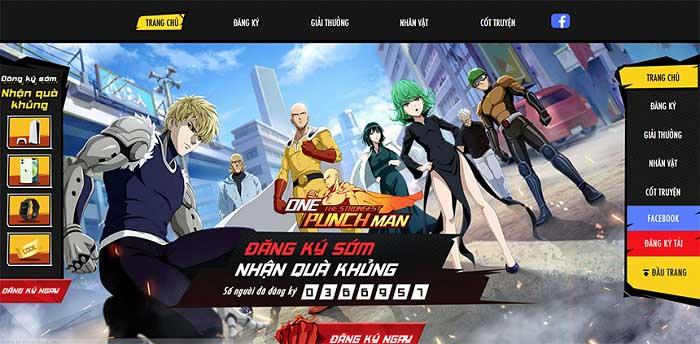Vượt mốc 350.000 tài khoản đăng ký tải, game thủ hối thúc One Punch Man: The Strongest nhanh chóng ra mắt 0