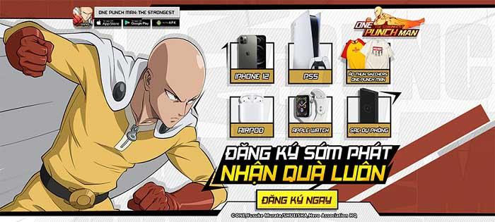 Vượt mốc 350.000 tài khoản đăng ký tải, game thủ hối thúc One Punch Man: The Strongest nhanh chóng ra mắt 1
