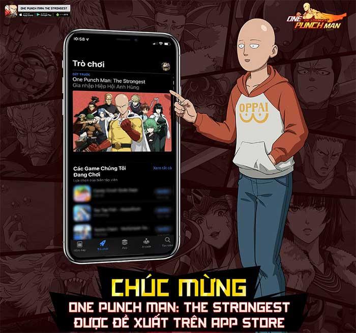Vượt mốc 350.000 tài khoản đăng ký tải, game thủ hối thúc One Punch Man: The Strongest nhanh chóng ra mắt 2