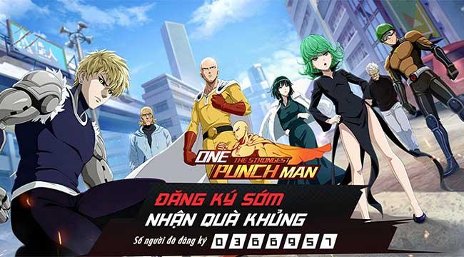 Vượt mốc 350.000 tài khoản đăng ký tải, game thủ hối thúc One Punch Man: The Strongest nhanh chóng ra mắt