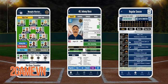 Pro Baseball General Manager - Game quản lý hấp dẫn cho người yêu thể thao 1