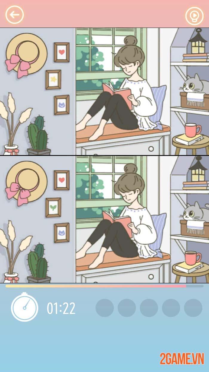 A Cat House - Game thú cưng dễ thương với lối chơi tìm điểm khác nhau 1