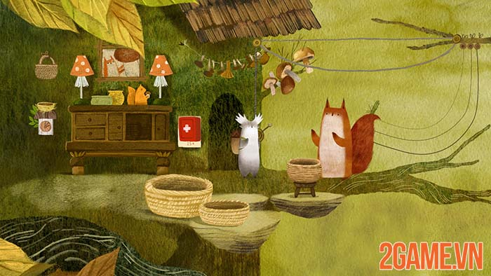 Tukoni - Game Indie bí ẩn khiến game thủ lạc lối trong khu rừng cổ tích 2