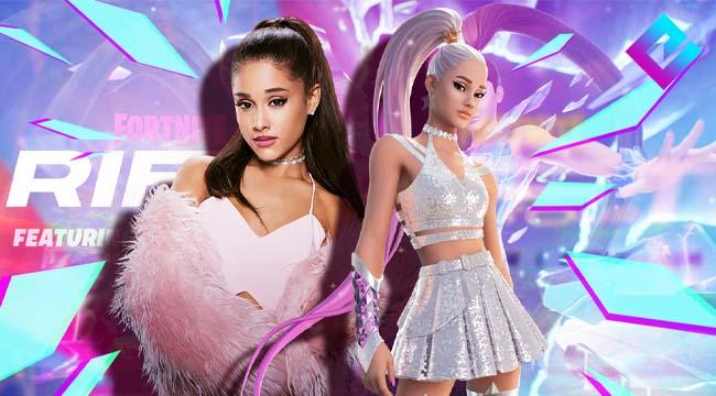 Fortnite chơi lớn tổ chức hẳn concept hoành tráng cho Ariana Grande