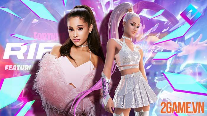 Fortnite chơi lớn tổ chức hẳn concept hoành tráng cho Ariana Grande 1