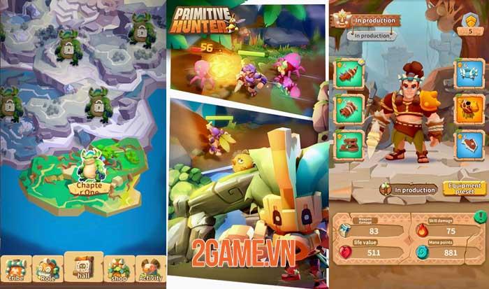 Primitive Hunter - Game mobile ARPG 3D về nền văn minh thời tiền sử 0