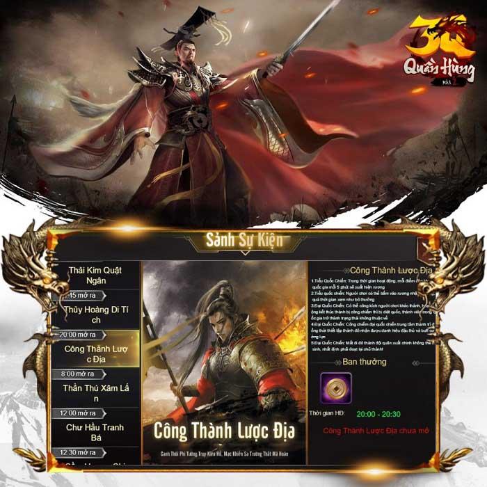 Cộng đồng game thủ xôn xao về tựa game bom tấn Tam Quốc sắp được ra mắt trên thị trường Việt Nam 0