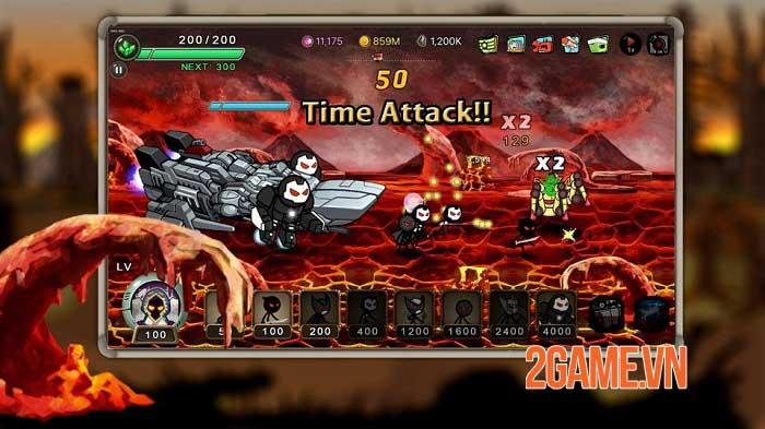 Stickman RPG - Chiếm lại Trái đất và giải cứu các công dân khỏi cái ác 0