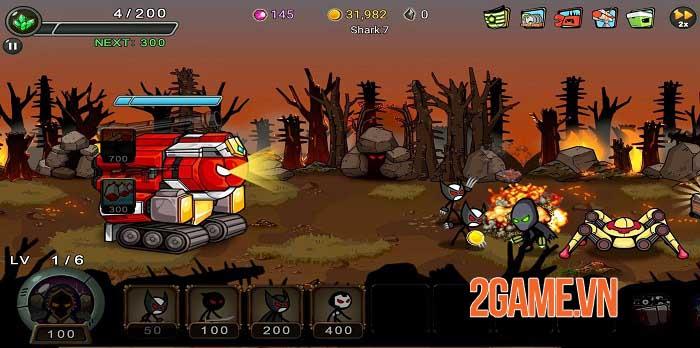 Stickman RPG - Chiếm lại Trái đất và giải cứu các công dân khỏi cái ác 3