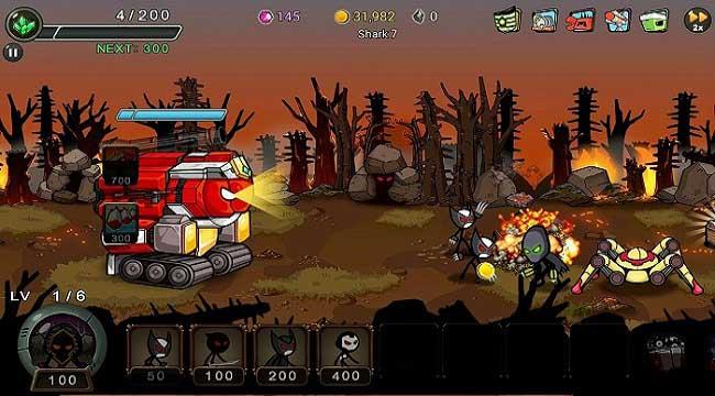 Stickman RPG – Chiếm lại Trái đất và giải cứu các công dân khỏi cái ác