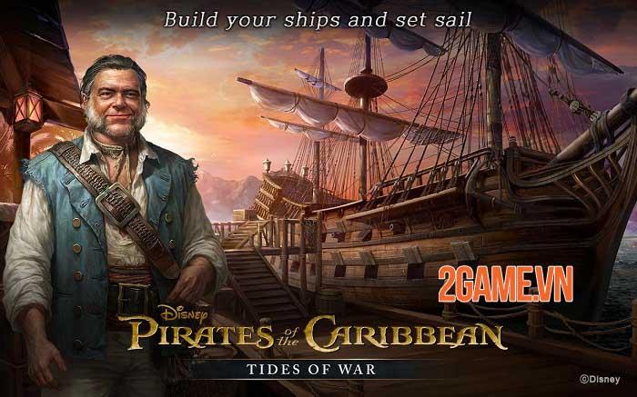Pirates of the Caribbean: Tides of War - Game chiến thuật khởi động giấc mơ cướp biển 1