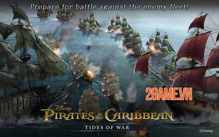 Pirates of the Caribbean: Tides of War - Game chiến thuật khởi động giấc mơ cướp biển 2