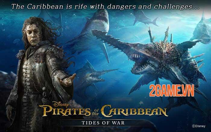 Pirates of the Caribbean: Tides of War - Game chiến thuật khởi động giấc mơ cướp biển 3