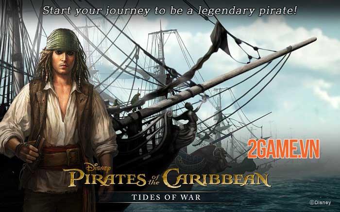 Pirates of the Caribbean: Tides of War - Game chiến thuật khởi động giấc mơ cướp biển 4