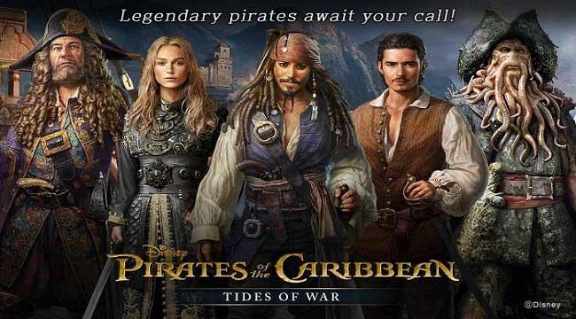 Pirates of the Caribbean: Tides of War – Game chiến thuật khởi động giấc mơ cướp biển