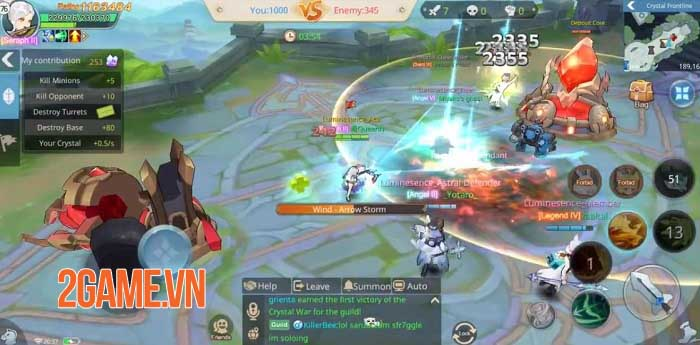 Cloud Song VNG: Game MMORPG kết hợp tính năng MOBA hiếm hoi trên thị trường 2