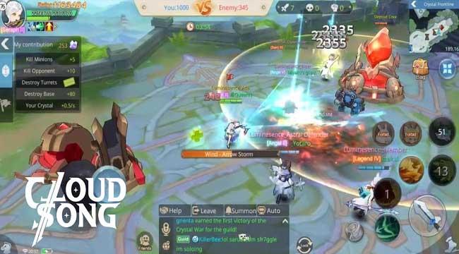 Cloud Song VNG: Game MMORPG kết hợp tính năng MOBA hiếm hoi trên thị trường