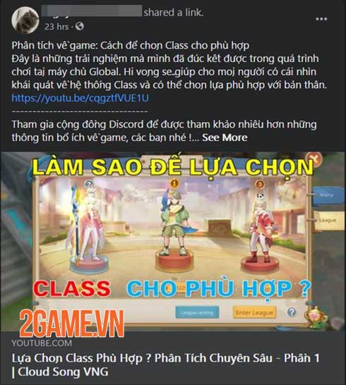 Cloud Song VNG: Game MMORPG kết hợp tính năng MOBA hiếm hoi trên thị trường 0