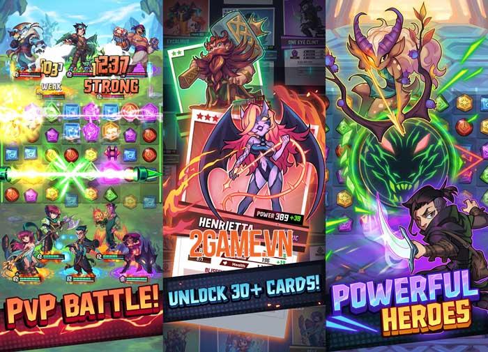 Puzzle Brawl - Game PvP match-3 ra mắt trên toàn thế giới 1