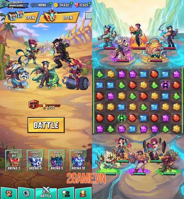 Puzzle Brawl - Game PvP match-3 ra mắt trên toàn thế giới 2