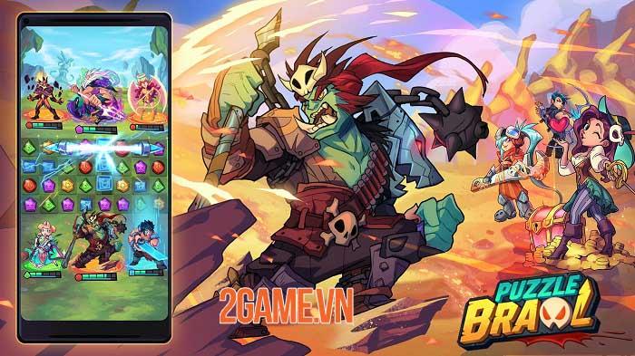 Puzzle Brawl - Game PvP match-3 ra mắt trên toàn thế giới 0