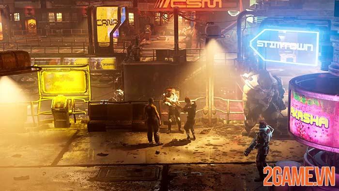 The Ascent - Game nhập vai đồ họa khủng với phong cách Cyberpunk 0