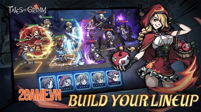 Tales of Grimm - Game Idle RPG phiêu lưu thử thách trong những câu chuyện cổ tích 1