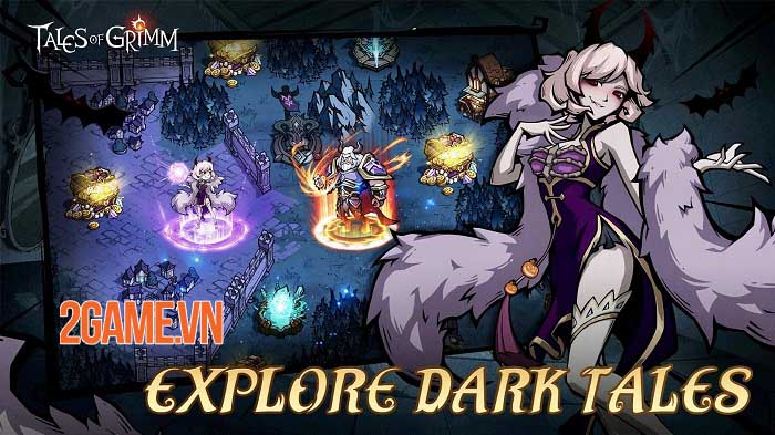 Tales of Grimm - Game Idle RPG phiêu lưu thử thách trong những câu chuyện cổ tích 2