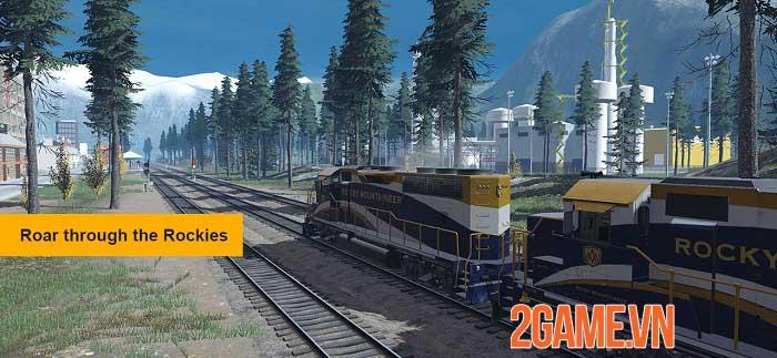 Trainz Simulator 3 - Trải nghiệm xe lửa thực tế phong cách mới 0