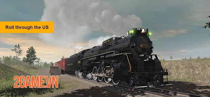 Trainz Simulator 3 - Trải nghiệm xe lửa thực tế phong cách mới 2