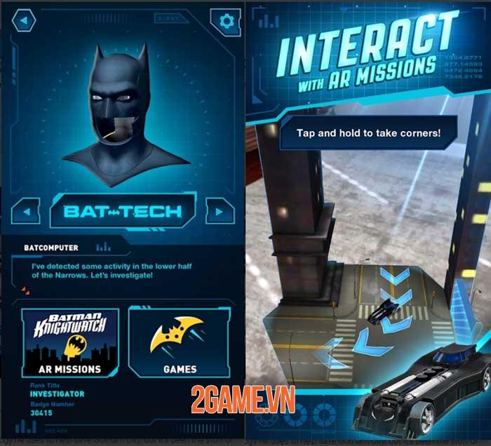 DC: Batman Bat Tech Edition - Game AR sử dụng công nghệ Batman chống lại tội phạm 0