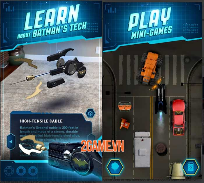 DC: Batman Bat Tech Edition - Game AR sử dụng công nghệ Batman chống lại tội phạm 1