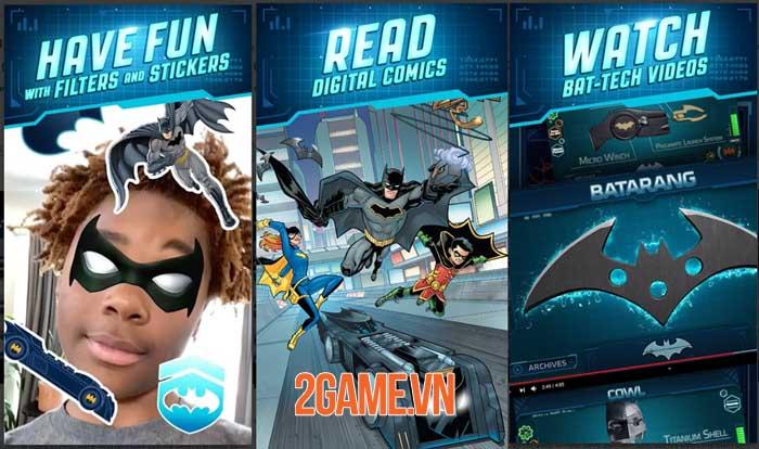 DC: Batman Bat Tech Edition - Game AR sử dụng công nghệ Batman chống lại tội phạm 2