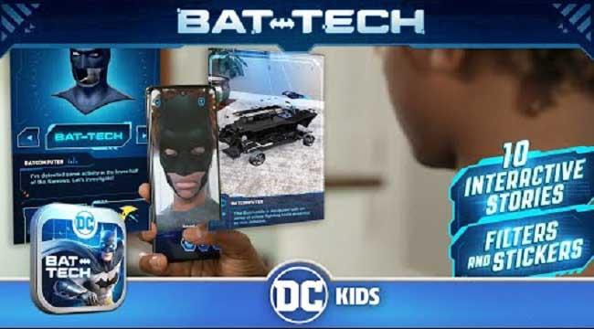 DC: Batman Bat Tech Edition – Game AR sử dụng công nghệ Batman chống lại tội phạm