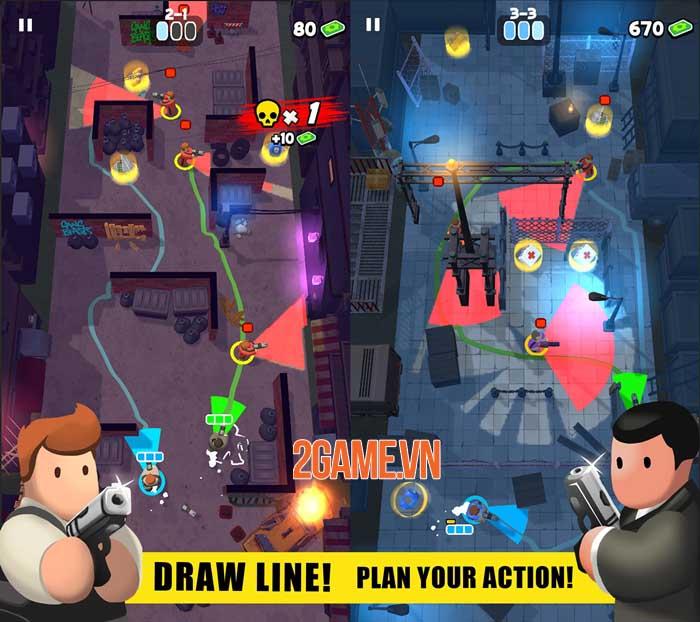 Fatal Funnel - Game hành động đồ họa low-poly đáng yêu 1