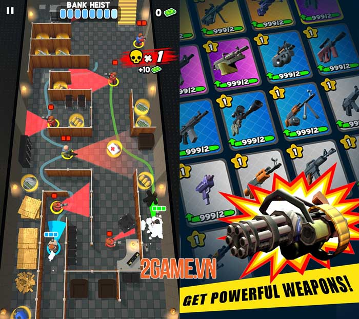 Fatal Funnel - Game hành động đồ họa low-poly đáng yêu 2