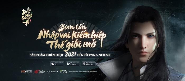 VNG sẽ phát hành Sở Lưu Hương Mobile với tên gọi chính thức Nhất Mộng Giang Hồ 0