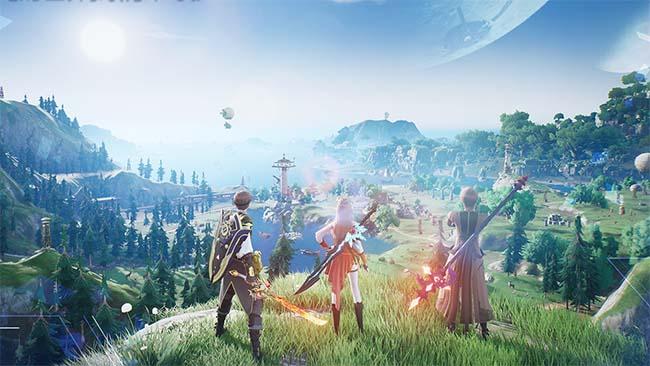 Noah's Heart - Siêu phẩm MMORPG thế giới mở sẽ cạnh tranh với Genshin Impact trong năm 2021 0