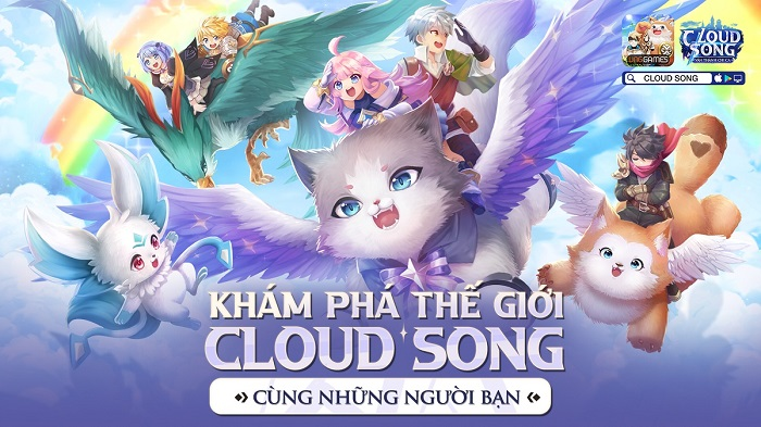 Cloud Song VNG: Kết nối cộng đồng quốc tế cùng tính năng Cross World 6