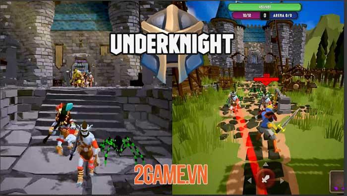 UnderKnight - Game roguelite full màn hình dọc điều khiển bằng một ngón tay 0