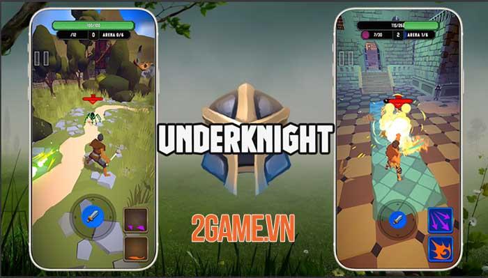UnderKnight - Game roguelite full màn hình dọc điều khiển bằng một ngón tay 1
