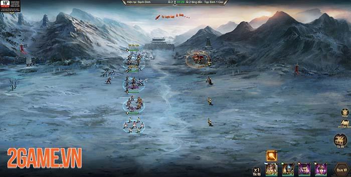 Đánh giá 3Q Quần Hùng - game chiến thuật dành cho mưu thần game thủ 0