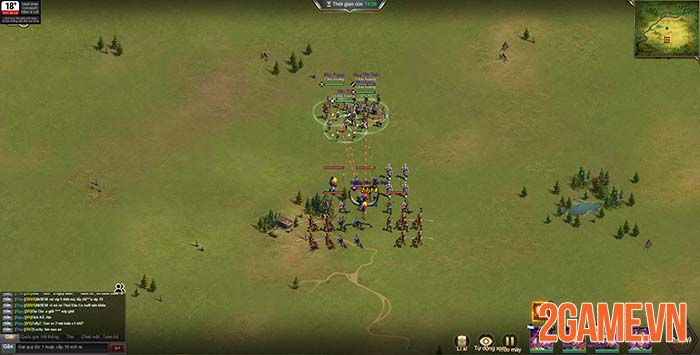 Đánh giá 3Q Quần Hùng - game chiến thuật dành cho mưu thần game thủ 3