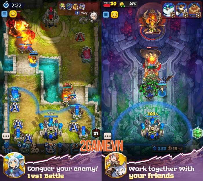 Castle Craft: World War - Game chiến thuật PVP nơi kĩ năng quyết định kết quả 1