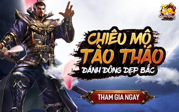 3Q Quần Hùng Tam Quốc Công Thành tặng game thủ bộ code siêu khủng 1