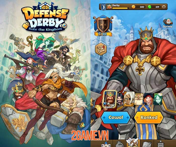 Defense Derby: Rule the Kingdom - Giành chiến thắng với các chiến thuật độc đáo 2
