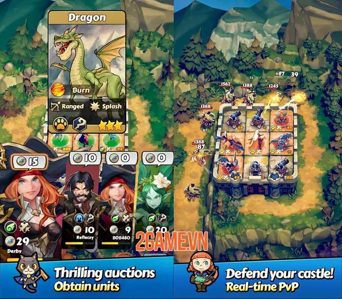 Defense Derby: Rule the Kingdom - Giành chiến thắng với các chiến thuật độc đáo 3