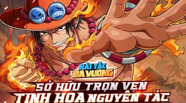 Game Hải Tặc Bá Vương hội tụ trọn vẹn tinh hoa nguyên tác One Piece