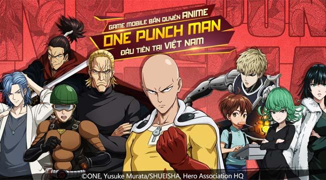 One Punch Man The Strongest chính thức công bố lộ trình ra mắt